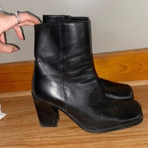 Browns Black leather boots